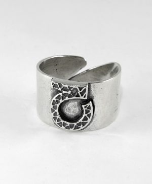 Bague Rebelle - Optimisme - Argent - Ben Azri