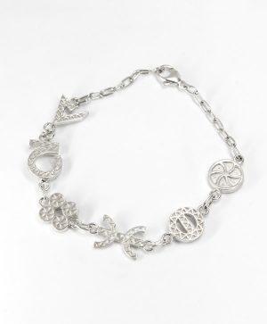 Bracelet Chaine - 6 énergies - Argent - Ben Zzri