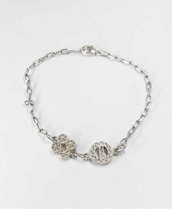 Bracelet Chaine - Chance protection - argent - Ben Azri