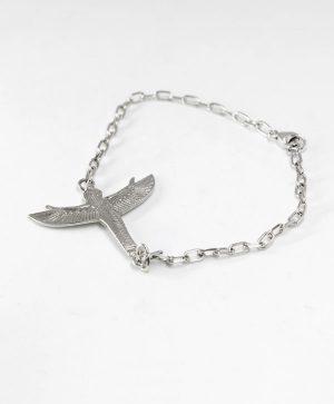 Bracelet Chaine - Isis l'envol - Argent - Ben Azri