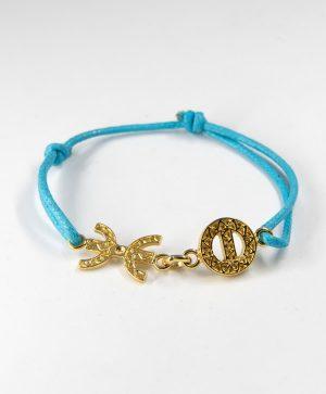 Bracelet Cordon Bleu - Liberté Protection - Or - Ben Azri