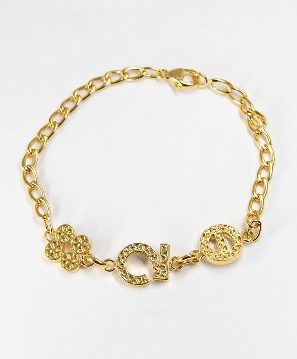 Bracelet Chaine - Chance Optimisme Protection - Or - Ben Azri