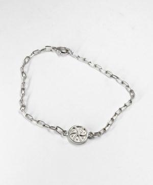 Bracelet Chaine Romantique - Amour - Argent - Ben Azri