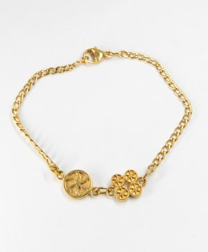 Bracelet Chaine - Amour Chance - Or - Ben Azri