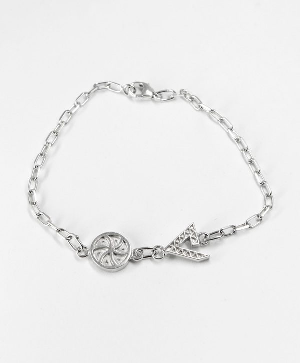 Bracelet Chaine - Amour Force - argent - Ben Azri