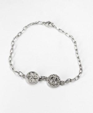 Bracelet Chaine - Amour Protection - argent - Ben Azri