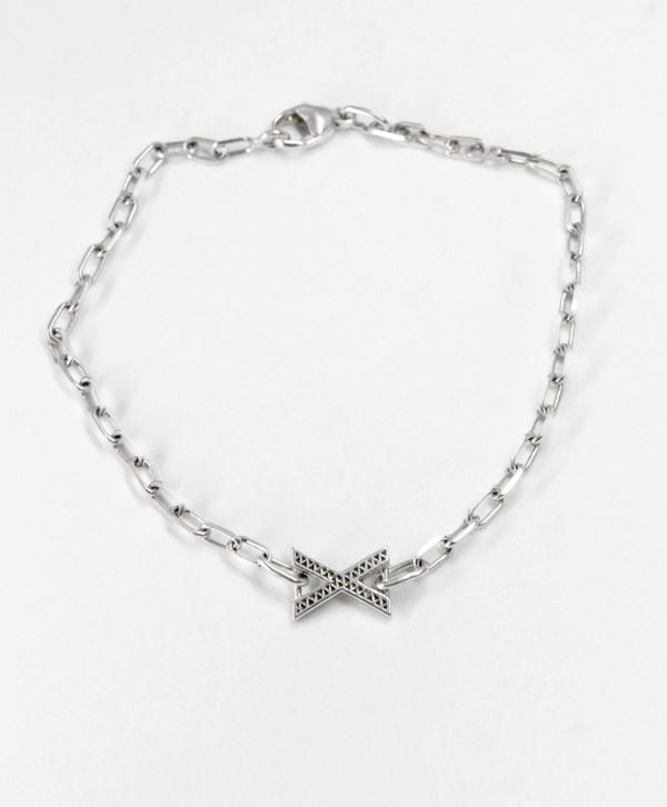 Bracelet Chaine Romantique - Belle Rencontre - Argent - Ben Azri
