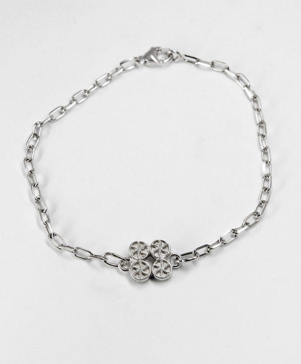 Bracelet Chaine Romantique - Chance - Argent - Ben Azri