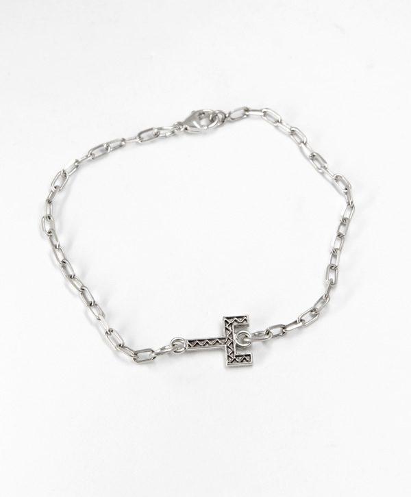 Bracelet Chaine Romantique - Courage - Argent - Ben Azri