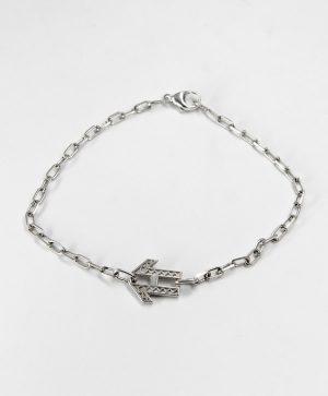 Bracelet Chaine Romantique - Energie - Argent - Ben Azri