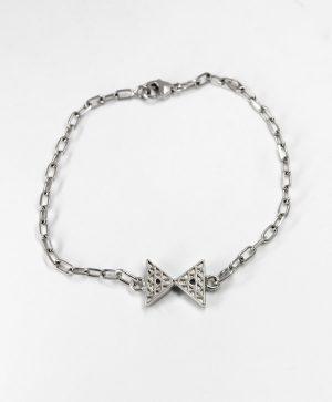 Bracelet Chaine Romantique - Equilibre - Argent - Ben Azri