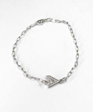 Bracelet Chaine Romantique - Force - Argent - Ben Azri