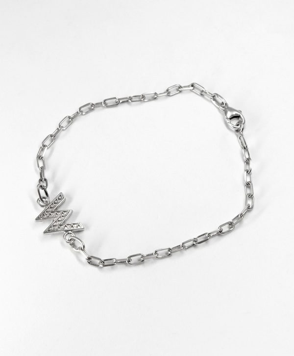 Bracelet Chaine Romantique - Mémoire - Argent - Ben Azri
