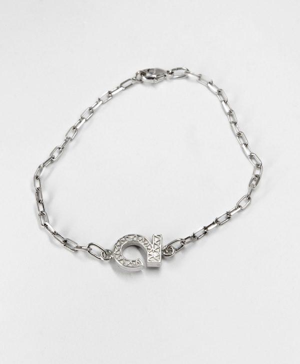 Bracelet Chaine Romantique - Optimisme - Argent - Ben Azri