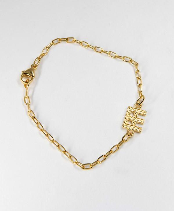 Bracelet Chaine Romantique - Paix - Or - Ben Azri
