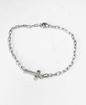 Bracelet Chaine Romantique - Santé - Argent - Ben Azri