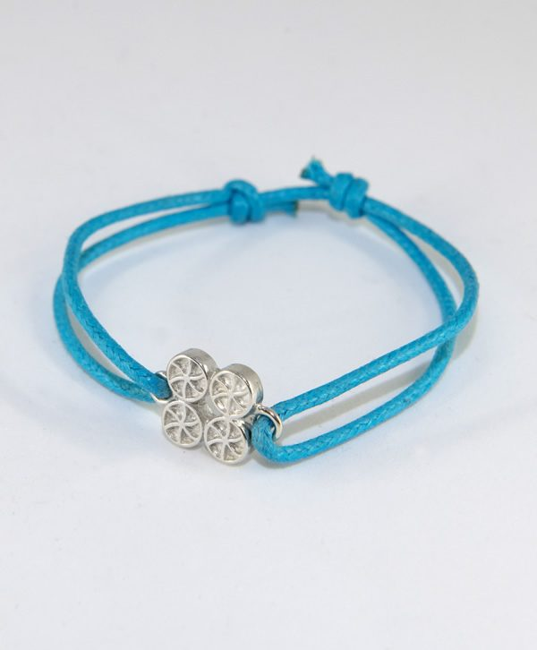 Bracelet Cordon Bleu - Chance - Argent - Ben Azri