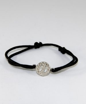 Bracelet Cordon Noir - Protection - Argent - Ben Azri
