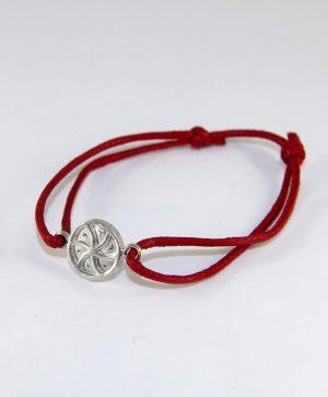 Bracelet Cordon Rouge - Amour - Argent - Ben Azri