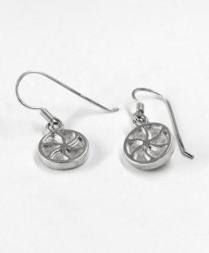 Boucles d'oreilles pendantes - Amour - Argent - Ben Azri