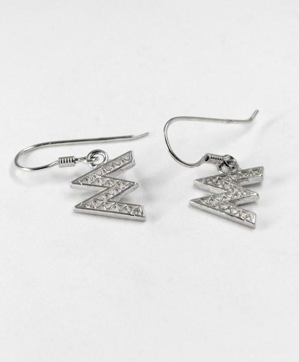 Boucles d'oreilles pendantes - Mémoire - Argent - Ben Azri
