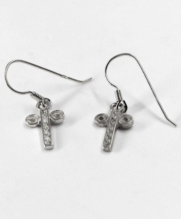 Boucles d'oreilles pendantes - Santé - Argent - Ben Azri