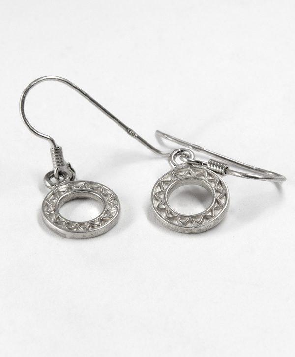 Boucles d'oreilles pendantes - Souplesse - Argent - Ben Azri