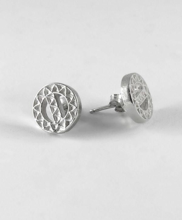 Boucle d'oreille poussette romantique - Protection - Argent - Ben Azri