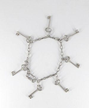 Bracelet Chaine - Les 7 clés - Argent - Ben Azri