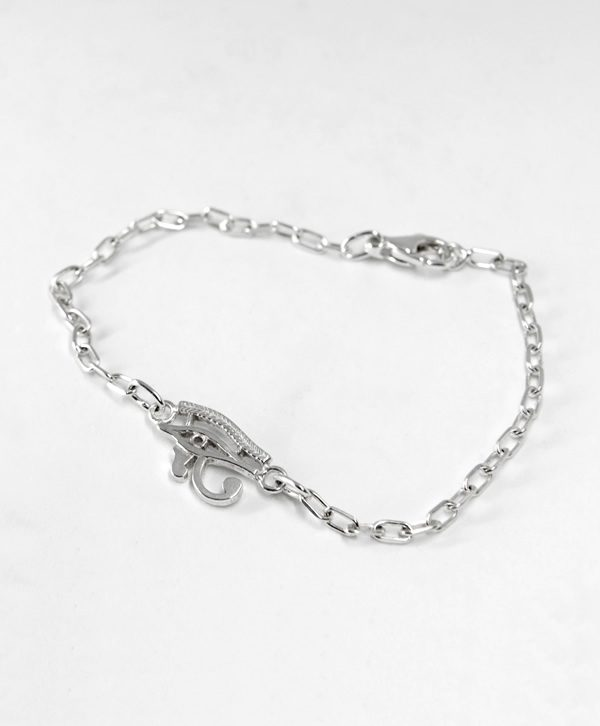 Bracelet Chaine - L'Oeil Horus - Argent - Ben Azri