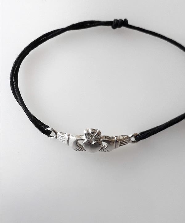 bracelet-cordon-noir-celtique-argent-ben-azri