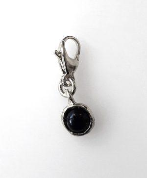 charms-pierre-agathe-noire-argent-ben-azri