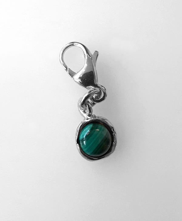 charms-pierre-malachite-argent-ben-azri