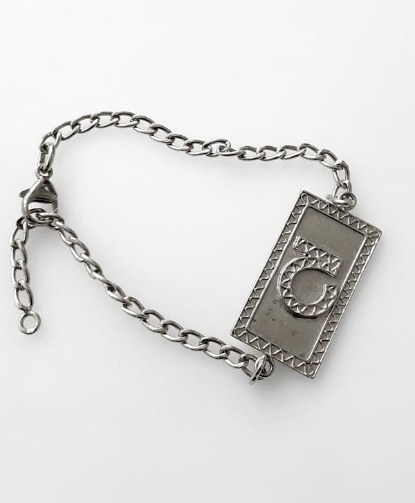 bracelet-chaine-cartouche-optimisme-argent-ben-azri